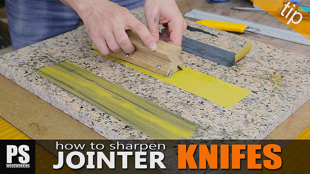 How to Sharpen Jointer Knives