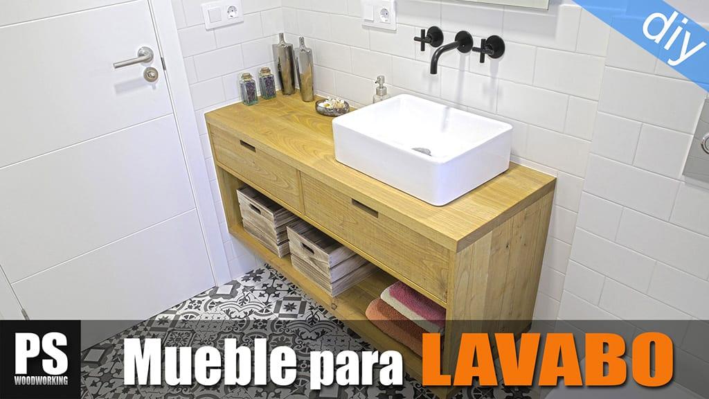 Mueble Lavabo Suspendido Casero