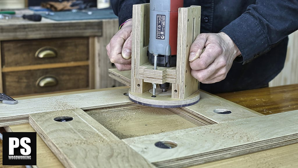 DIY Adjustable Router Template Guide