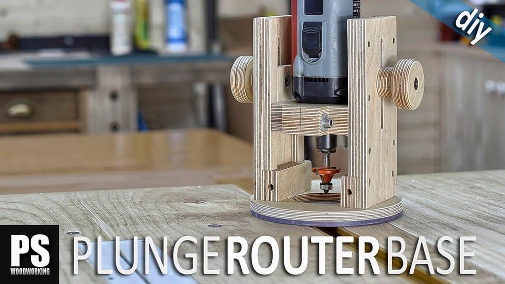 DIY Plunge Router Base