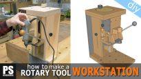 DIY-Rotary-Tool-Multipurpose-Workstation
