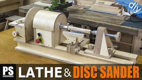 DIY-lathe-disc-sander-woodturnig