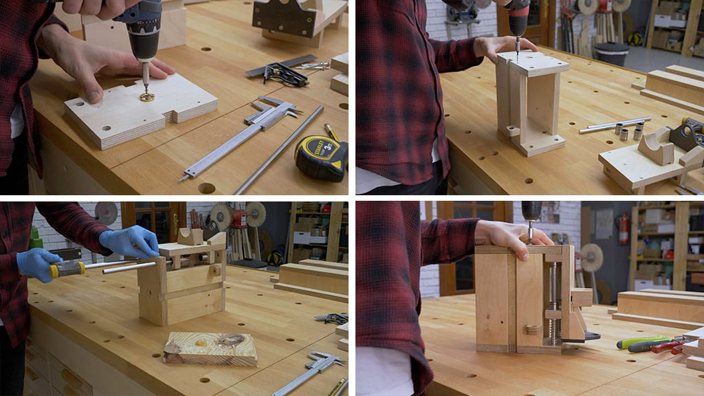 How-to-make-rotary-tool-workstation-lifting-system