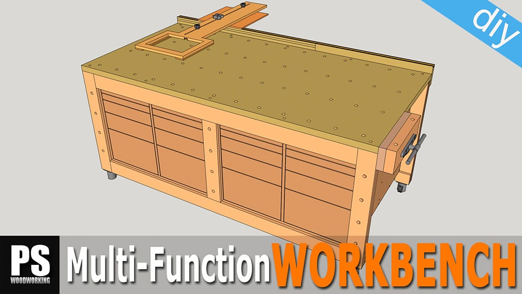 Diy-multi-function-workbench-build