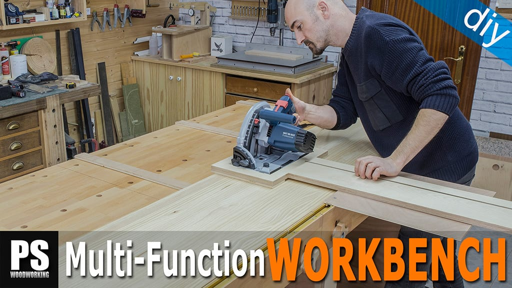 DIY Workbench Rip Cut Guide