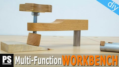 Diy-workbench-dogs-holdfast-clamps