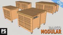 Banco-carpintero-modular-portaherramienta-casero