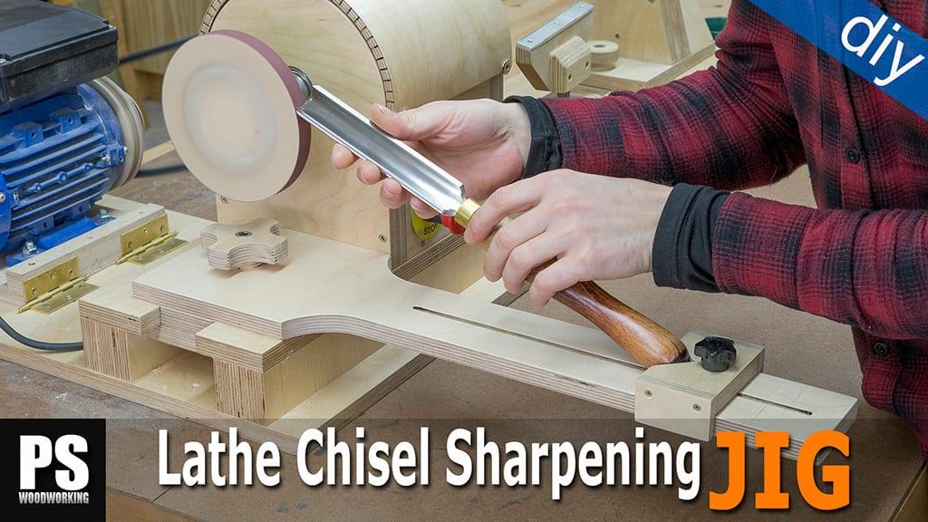 DIY Lathe Chisel Sharpening Jig