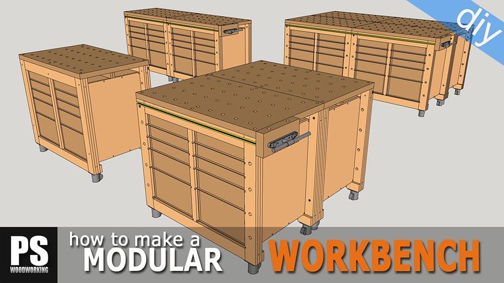 Modular Workbench & Mobile Tool Stand (1)