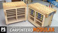 Banco-carpintero-modular-casero-bricolaje