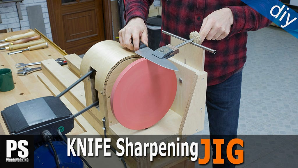 Homemade Knife Sharpening Jig