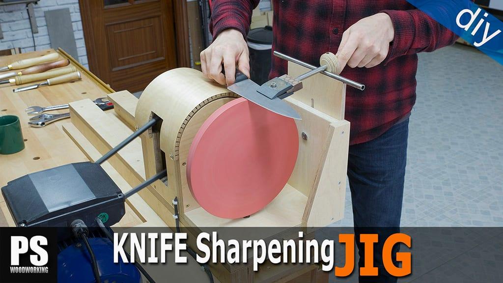 DIY-knife-sharpening-jig-lathe-attachment