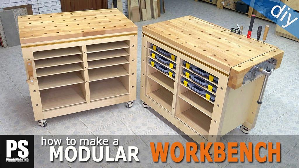 Modular Workbench & Mobile Tool Stand (2)