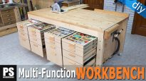 Homemade-multi-function-workbench