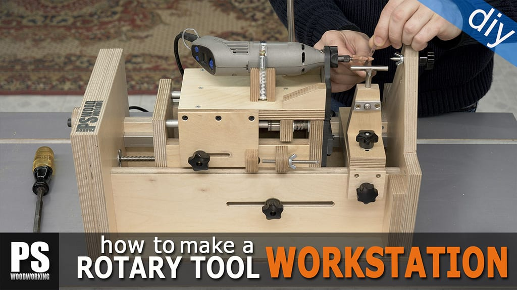 Homemade Rotary Tool Workstation (2)