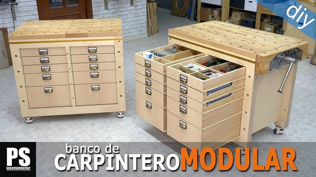Banco Carpintero Modular y Portaherramientas  (3)