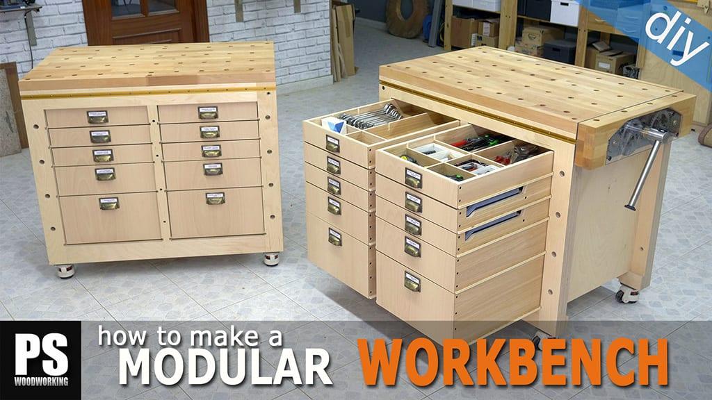 Modular Workbench & Mobile Tool Stand (3)