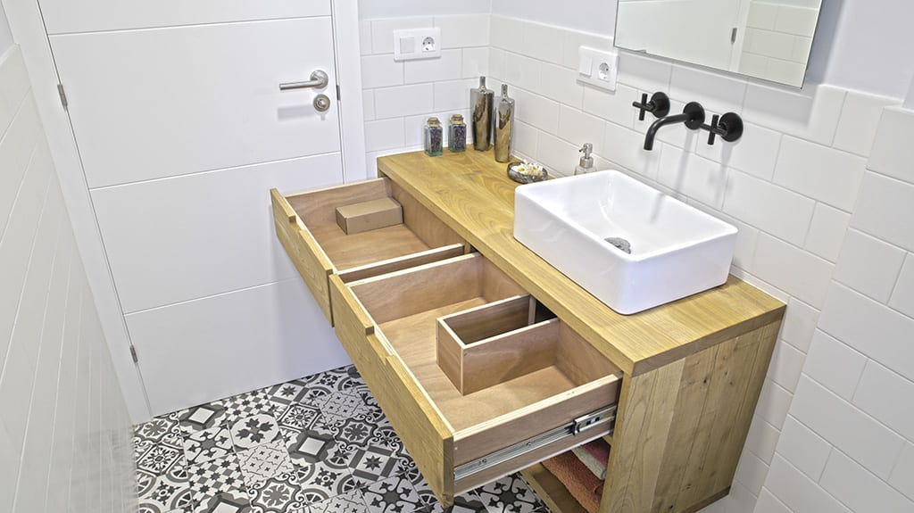 Diy Wall Mounted Bathroom Vanity Paoson Blog Diy Home Projects