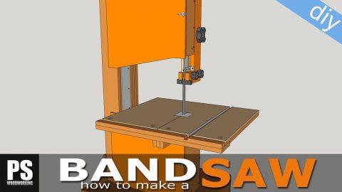 Homemade-plywood-band-saw