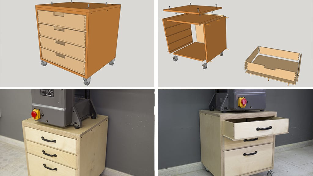 Homemade-woodworking-jointer-planer-stand-plans
