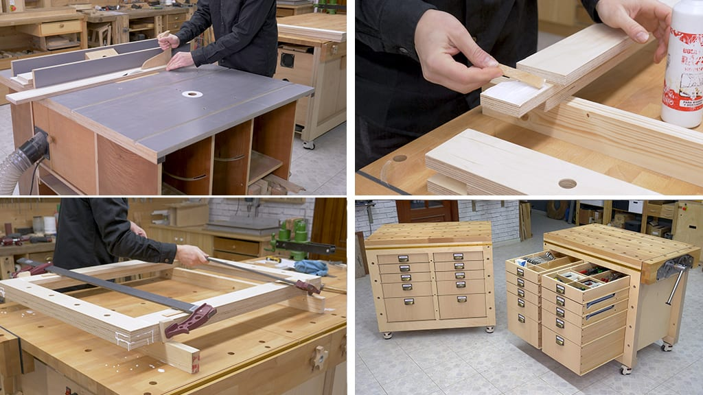 01Modular Workbench - Types of Boards used in Woodworking (1)