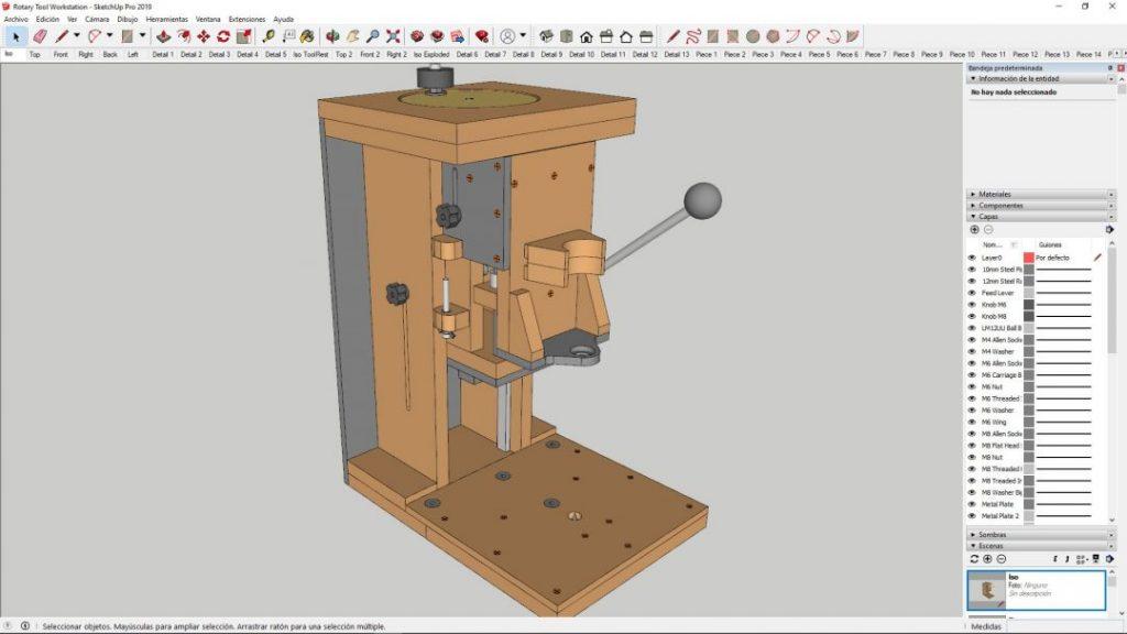 Diy-rotary-tool-workstation-column-drill-plans