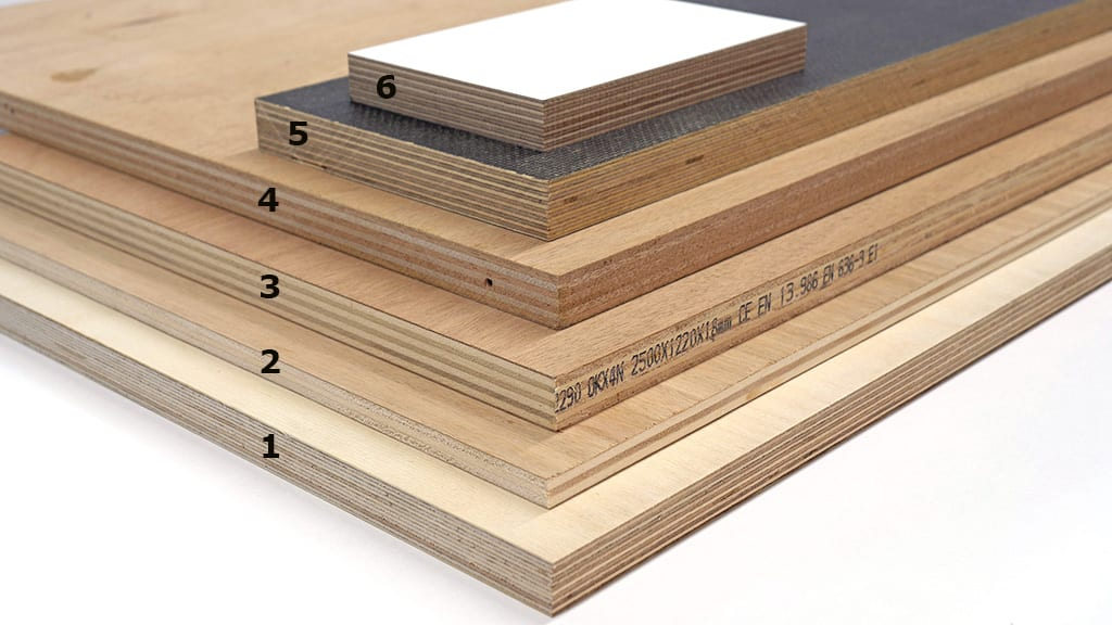 Types of Plywood Boards for Woodworking