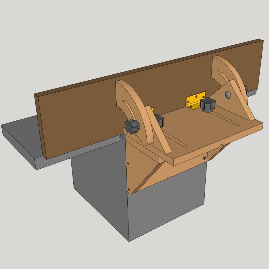 Homemade-Tilting-Fence-Cheap-Jointer-Planer-Plans