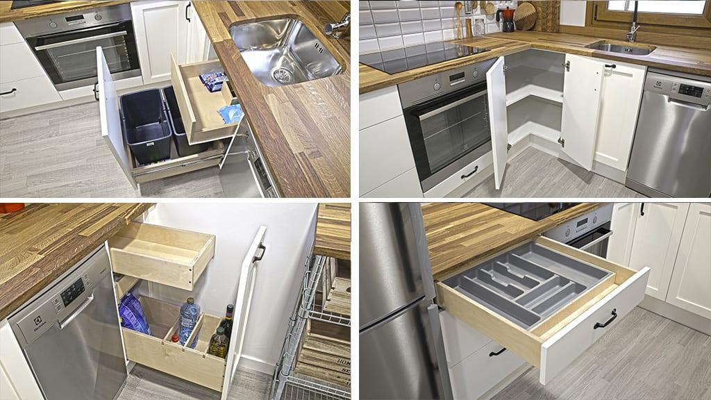 Homemade-european-style-kitchen-drawer