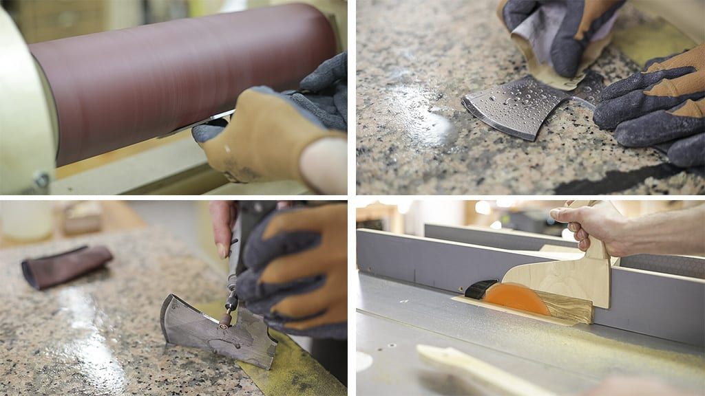 How-make-diy-mini-axe-old-saw-blade-woodworking