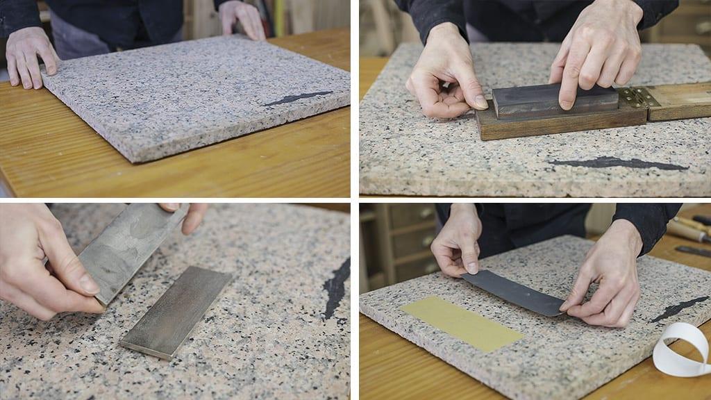 How-sharpen-chisels-stone-diamond-types-sandpaper
