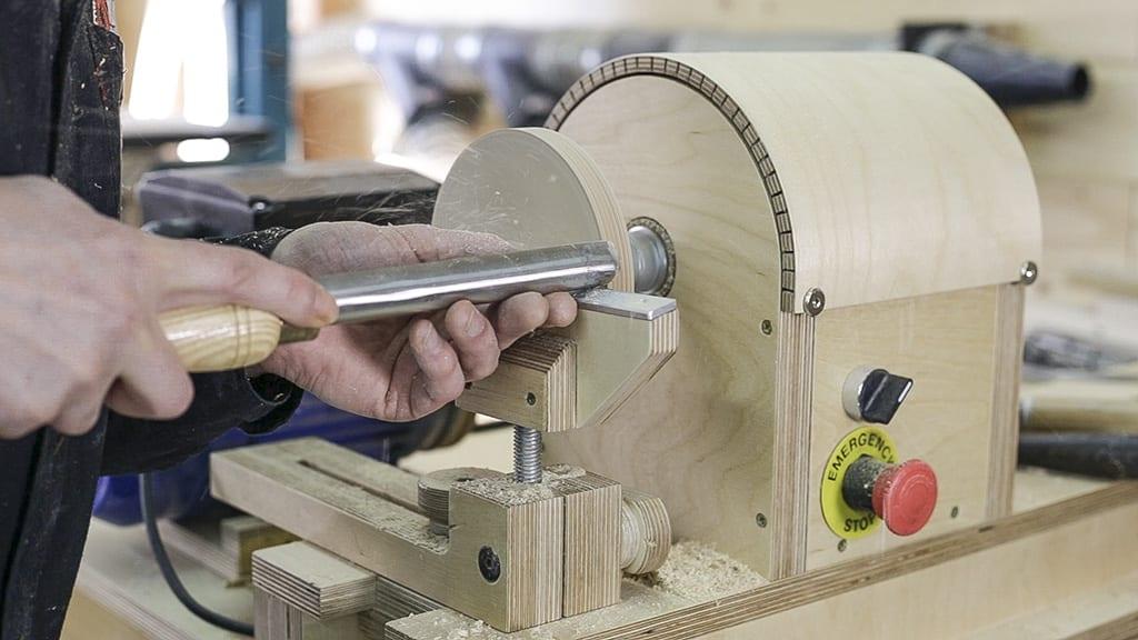 How-make-lathe-grinding-wheel-gouge