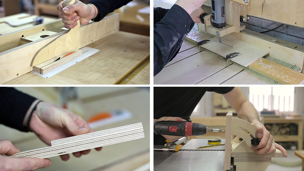 Processing-plywood-boards-used-woodworking-diy