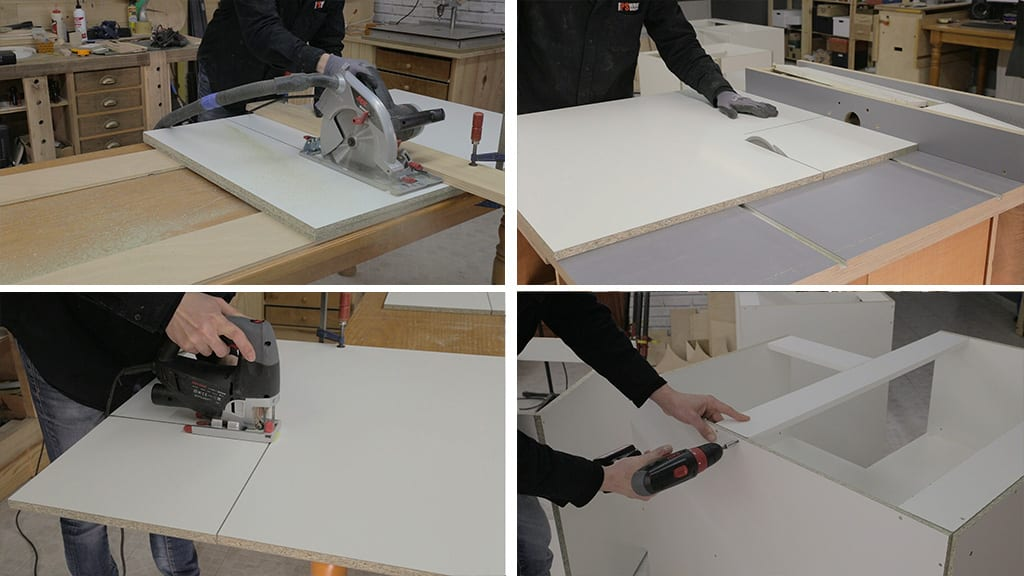 How-assemble-particle-board-corner-cabinets-DIY-kitchen