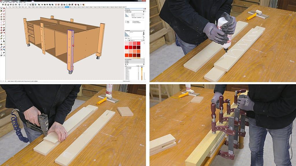 05Plywood Workbench 3 - DIY Multi-Function Workbench