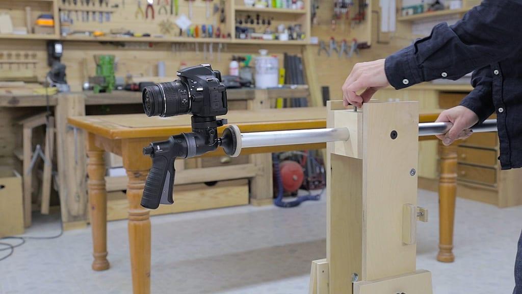 Soporte-tripode-madera-camara-video-foto-casero