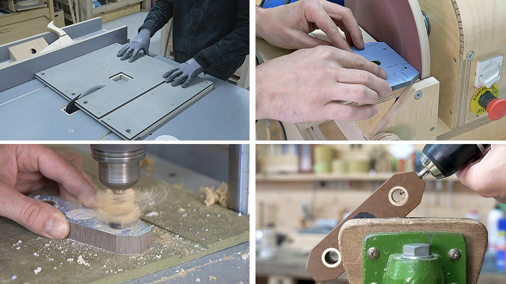 Processing-cut-drill-hpl-board-woodworking