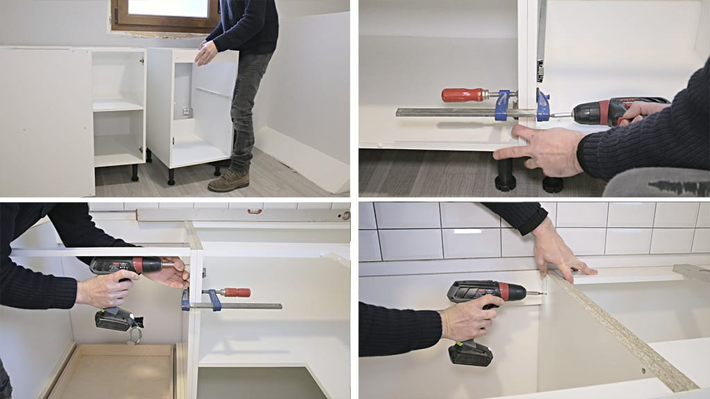 How-install-european-kitchen-cabinets-carpentry