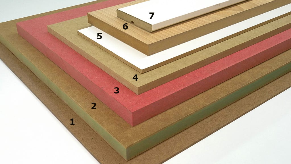 Types of MDF Boards for Woodworking