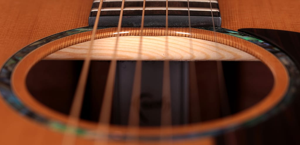 Acoustic-guitar-top-woodworking