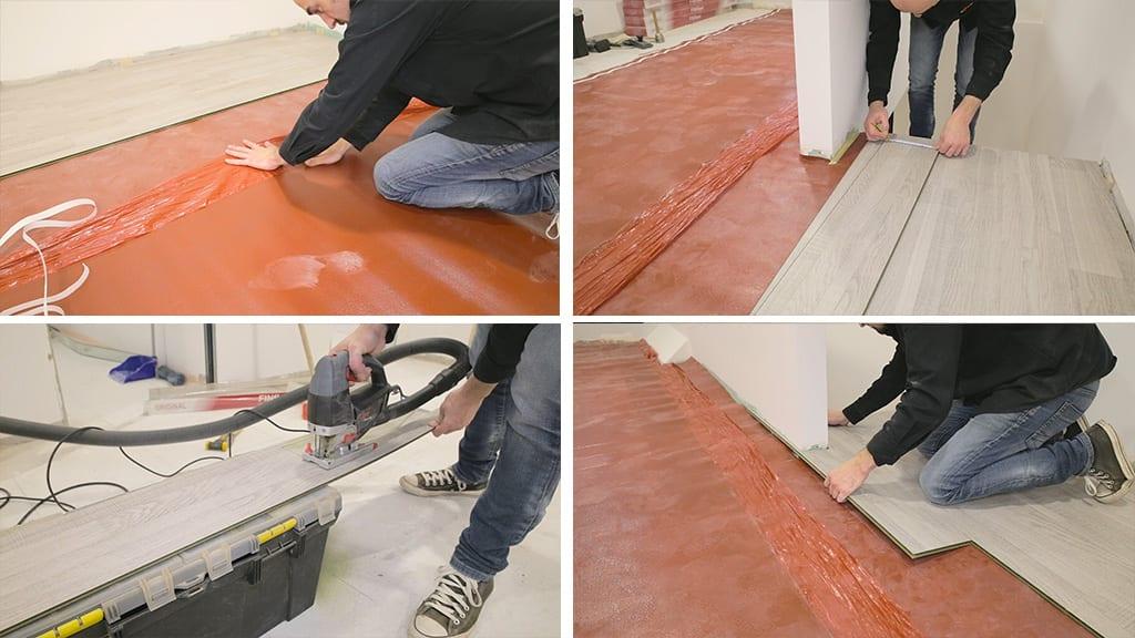 09Laminate Flooring Installation 9 - How to Install a Laminate Flooring