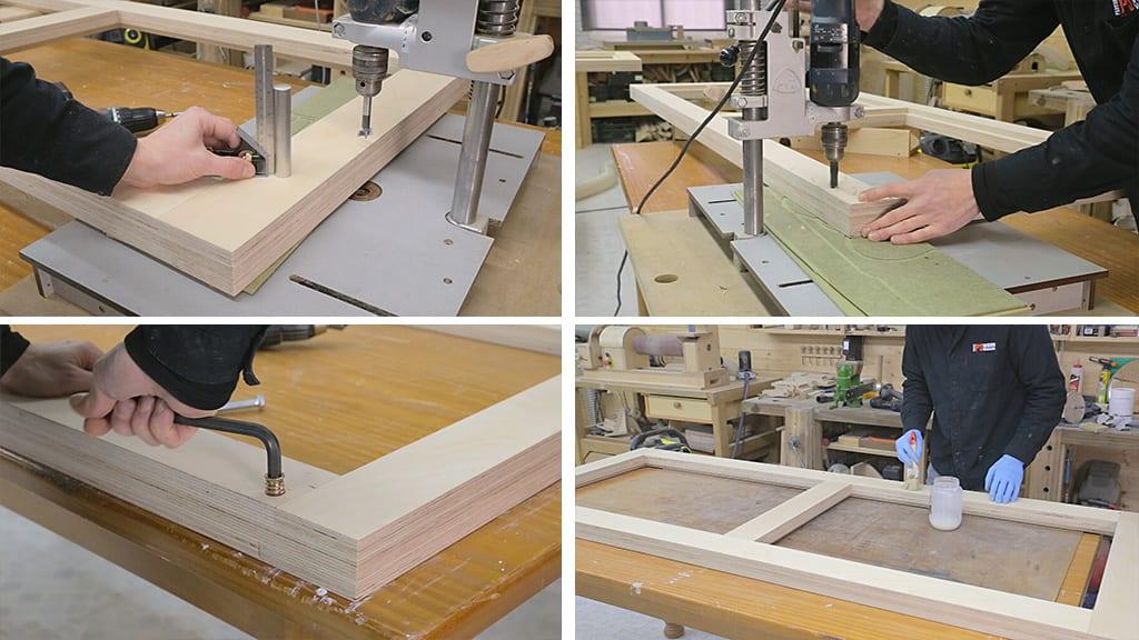 09Plywood Workbench 7 - DIY Multi-Function Workbench