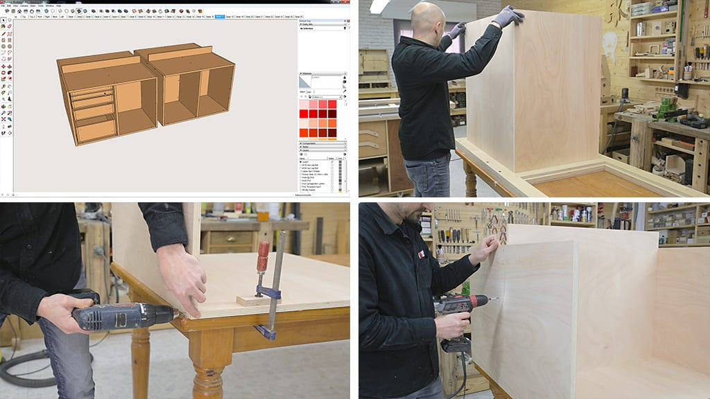 10Plywood Workbench 8 - DIY Multi-Function Workbench