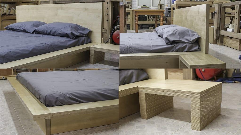 diy-plywood-tatami-style-bed