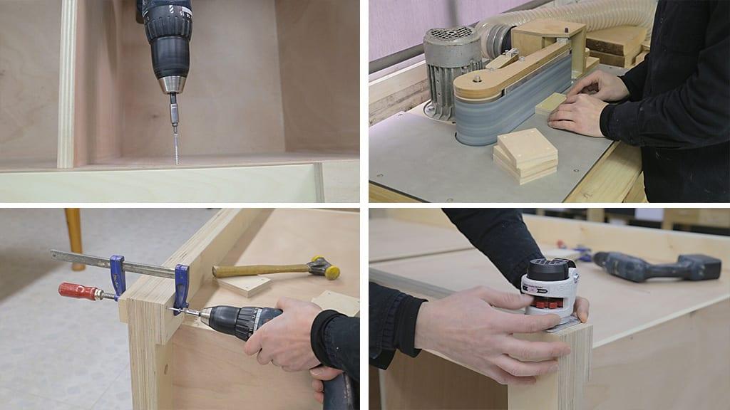 12Plywood Workbench 10 - DIY Multi-Function Workbench