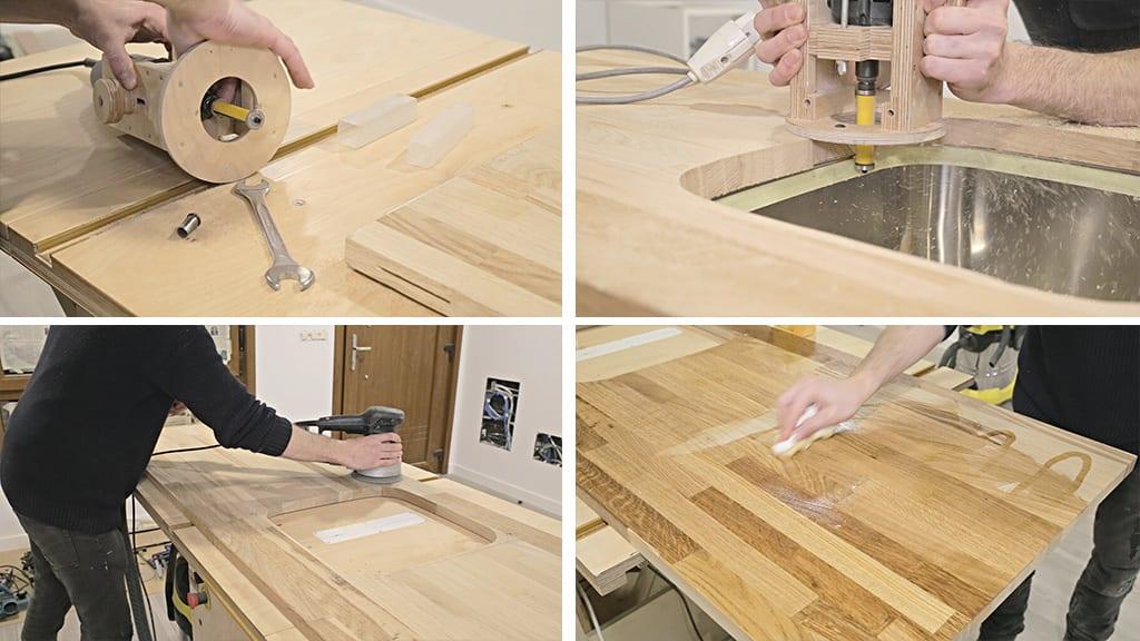 How-install-european-kitchen-countertop-sink-carpentry