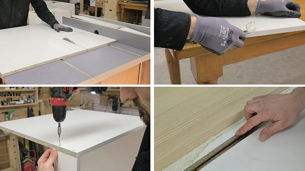 Processing-particle-board-chipboard-woodworking