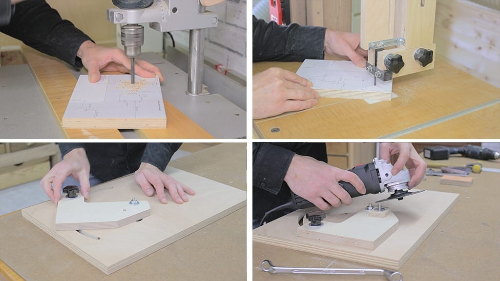 14Saw Blade Router Bits Sharpener 2 - DIY Saw Blades & Router Bits Sharpening Jig