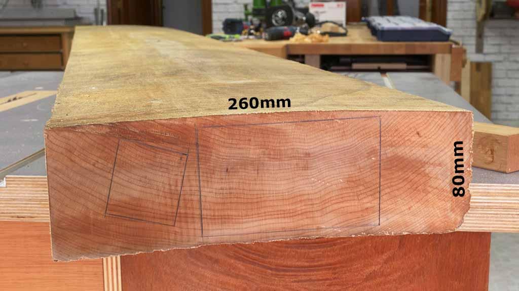 16Maple Lumber Quarter Saw - Corte y secado de la Madera