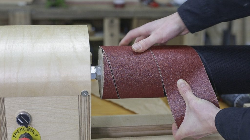 how-make-diy-drum-sander-velcro-hook-woodworking